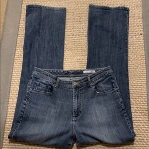 Chico's Platinum Washed look Denim Jeans Sz 8